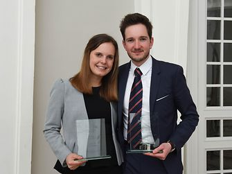 Marine Van Halle and Jérémy Denisty from Belgium are this year's winners of the Henkel Innovation Challenge