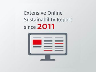Sustainability Report online since 2011